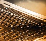 El teclado de ordenador Imagen de archivo libre de regalías