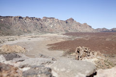 El Teide国家公园, Tenerife,西班牙 库存图片