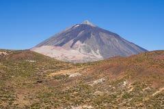 El Teide峰顶  免版税库存图片