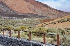 El Teide, национальный парк, Тенерифе Стоковое Изображение RF