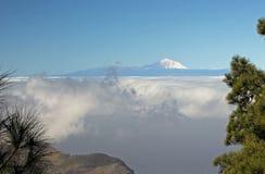 El Teide от Gran Canaria Стоковое Изображение