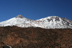 EL Teide Photo stock