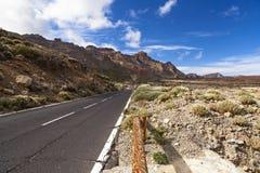 El Teide路 库存图片