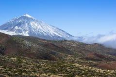 EL Teide del volcán   Foto de archivo