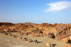 El Teide desert. Stock Images