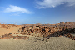 El Teide landscape. Royalty Free Stock Photos