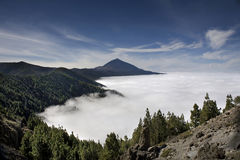 El Teide National Park Stock Photography