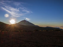 El Teide National Park - Sunset Stock Images
