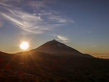 El Teide National Park - Sunset Stock Images