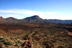 El Teide national park, Tenerife, Canary Islands, Royalty Free Stock Images