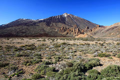 El Teide national park, Tenerife, Canary Islands, Royalty Free Stock Image