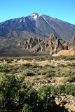 El Teide national park, Tenerife, Canary Islands, Royalty Free Stock Photo