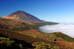El Teide National Park Royalty Free Stock Photography