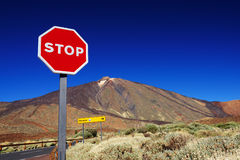 El Teide National Park Royalty Free Stock Photos