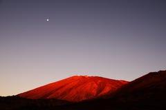 El Teide National Park Stock Photo