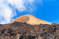El Teide National Park, Tenerife Royalty Free Stock Photos
