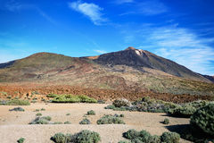 El Teide National Park, Tenerife, Canary Islands, Spain Royalty Free Stock Images