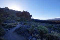 El Teide National Park, Tenerife. Canary Islands, Spain Royalty Free Stock Images