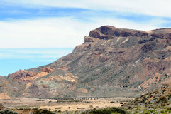 El Teide national park at Tenerife (Spain) Royalty Free Stock Image