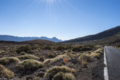 El Teide National Park Stock Photo
