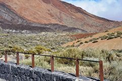 El Teide, nationalpark, Tenerife Royaltyfri Bild