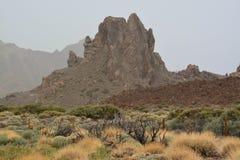 El Teide park narodowy Zdjęcie Stock