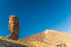 El Teide park narodowy, Tenerife, wyspy kanaryjska, Hiszpania zdjęcie stock