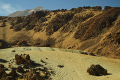 El Teide, park narodowy (wulkan, Tenerife) fotografia royalty free