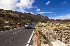 El teide road stock photo