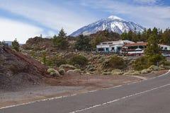 El teide road stock photos