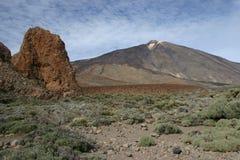el teide Tenerife Fotografia Stock