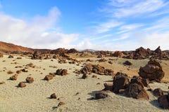 El teide view Stock Image