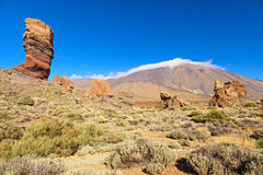 El teide view Stock Photos