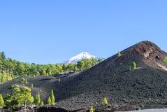 El Teide. Volcanic landscape - Nationalpark - mountain peak - glacier - no people Stock Photography