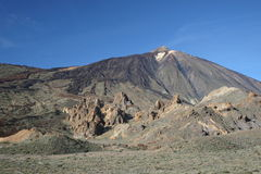 El Teide volcano Royalty Free Stock Photos