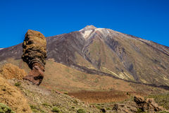 El Teide Volcano and Lava Formation-Tenerife,Spain Royalty Free Stock Photos