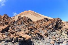 El Teide Volcano in Tenerife, Canary Islands, Spain Stock Photography