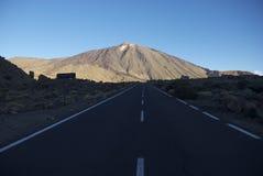 El Teide 库存照片