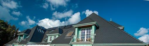 ¡El tejado de la casa!!! imágenes de archivo libres de regalías