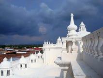 El tejado de la catedral de León - Nicaragua 5 Foto de archivo