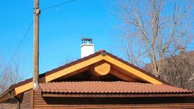 El tejado de los baños Imagenes de archivo