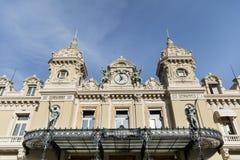 El tejado de Monte Carlo Casino, Mónaco, Francia imagen de archivo libre de regalías