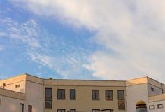 El tejado del edificio Imagen de archivo