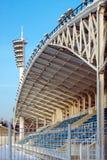 El tejado del estadio Foto de archivo libre de regalías