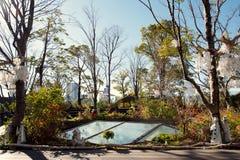 El tejado verde en la plaza Omotesando, Tokio, Japón de Tokyu Fotografía de archivo