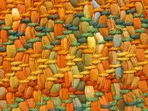 El tejer colorido imagen de archivo libre de regalías