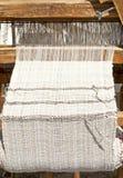 El tejer tradicional Imagen de archivo