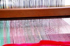 El tejer tradicional Fotos de archivo