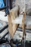 El tejer tradicional Fotografía de archivo