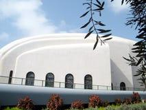 El teléfono Aviv Hechal Yehuda Synagogue empareda 2010 Fotografía de archivo
